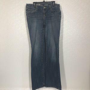 "Mossimo Junior's Size 7 Inseam 30"" Boot Cut Jeans"